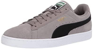 41027ab925cd4d PUMA Men s Suede Classic Sneaker Charcoal Gray b