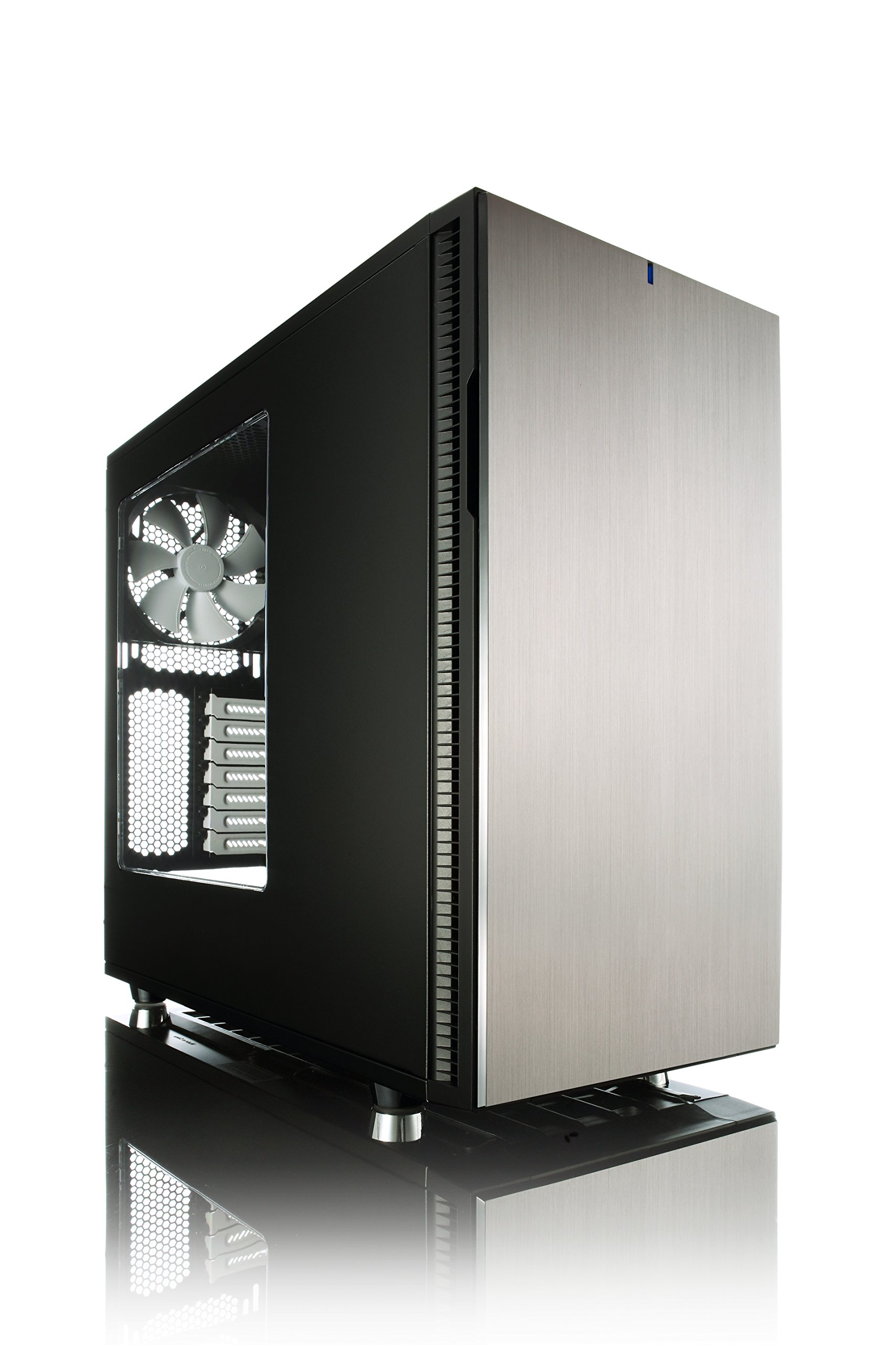 Fractal Design Define R5 Titanium with Window Cases FD-CA-DEF-R5-TI-W by Fractal Design