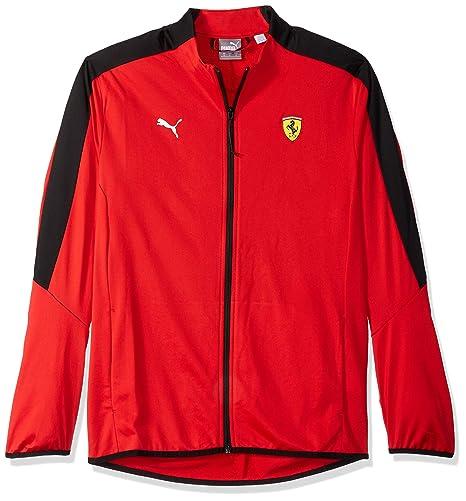 Amazon.com  PUMA Men\u0027s Standard Scuderia Ferrari T7 Track