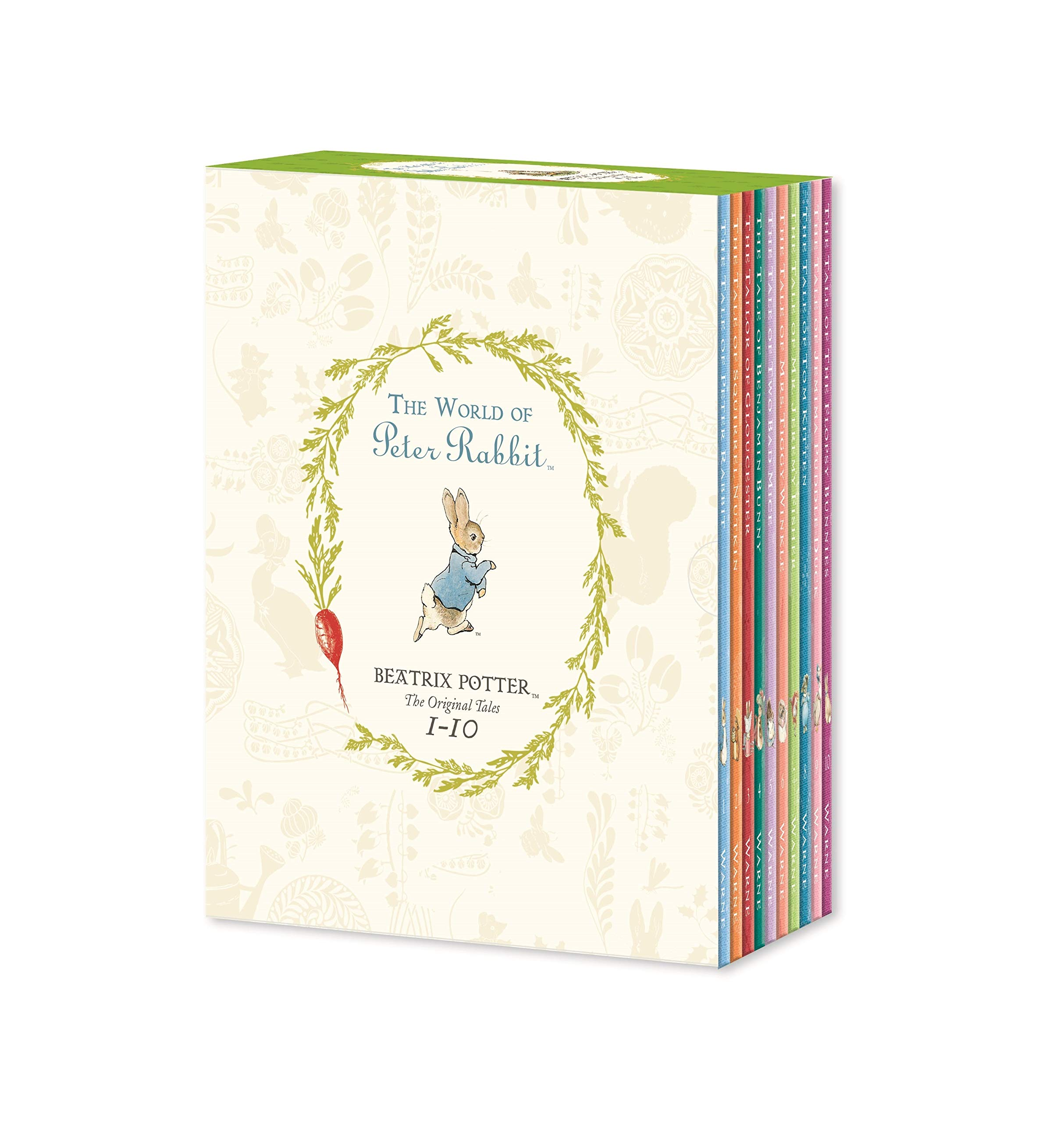 Peter Rabbit 10-book Library