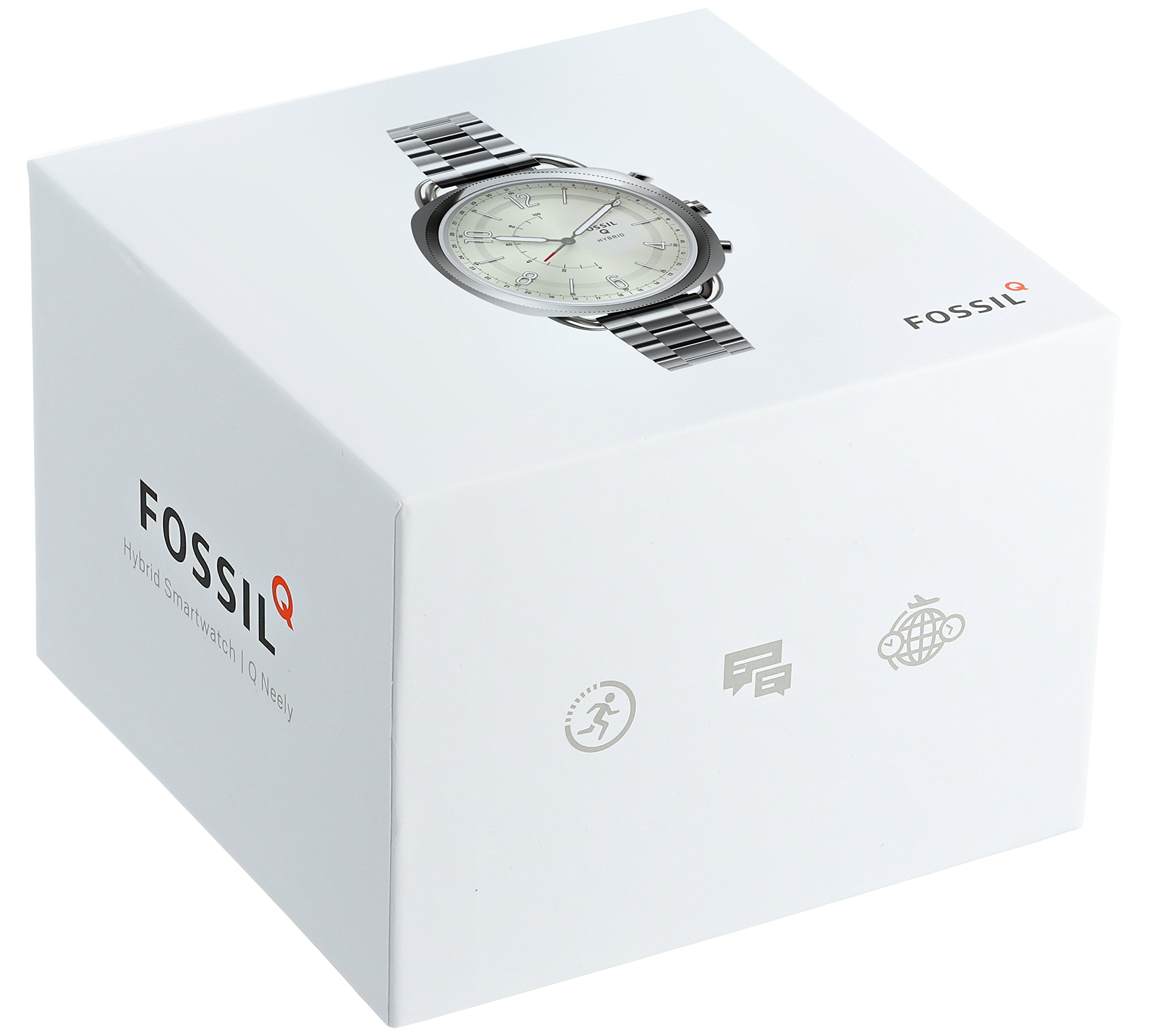 Fossil Hybrid Smartwatch - Q Accomplice Stainless Steel FTW1202 by Fossil (Image #4)