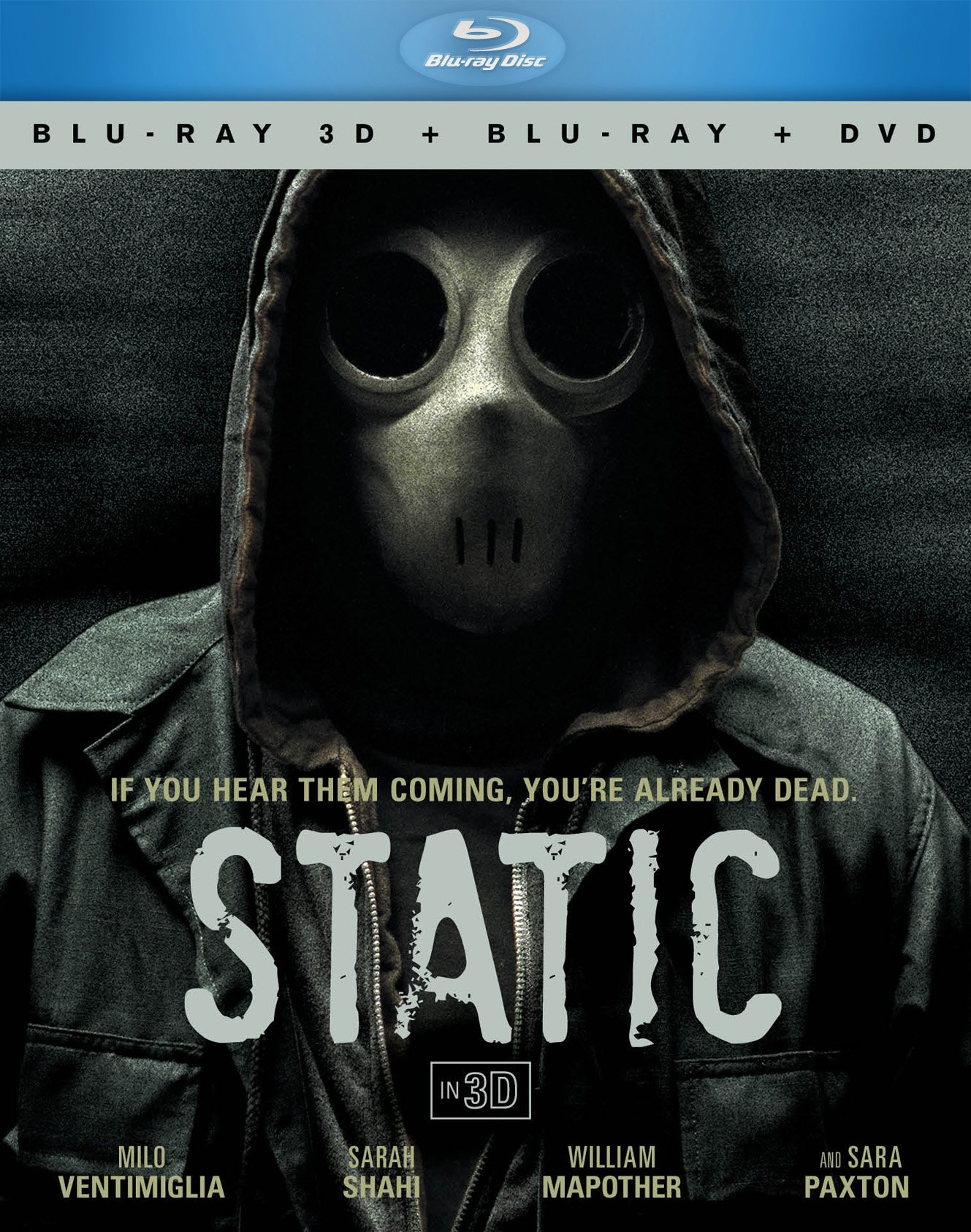 Blu-ray 3D : Static [3D BD+DVD Combo] (With DVD, 3 Pack, 3 Dimensional, 3 Disc)
