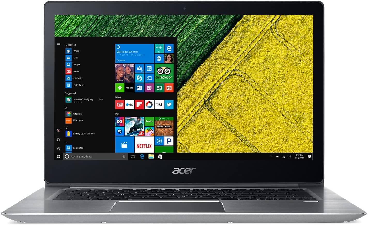 Acer 15.6in Intel Core i5 1.60 GHz 8 GB Ram 256GB SSD Windows 10H|SF315-51G-51CE (Renewed)
