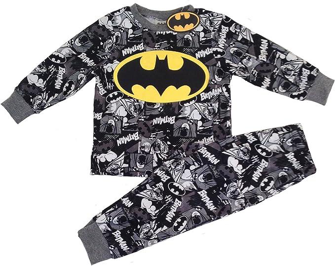 Batman DC Comics Uomo Pigiama Due Pezzi