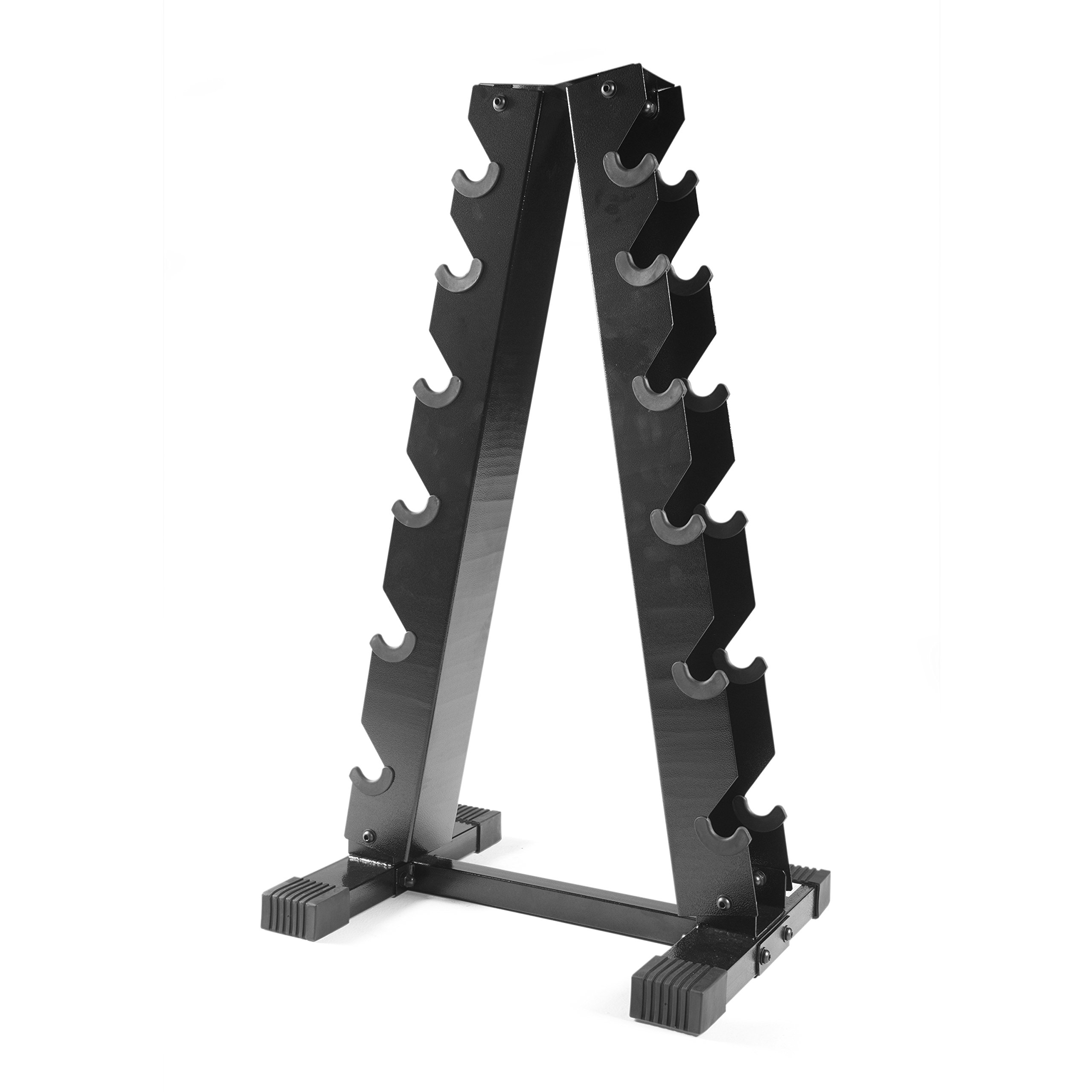CAP Barbell A-Frame Dumbbell Rack, Black