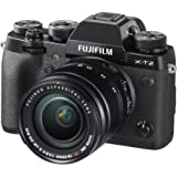 Fujifilm X Series X-T2 Mirrorless Digital Camera with 18-55mm F2.8-4.0R LM OIS Lens (Black)