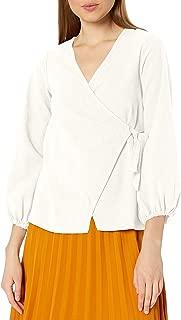 product image for Rachel Pally Women's Winter Linen Canvas Otis Wrap Top