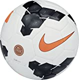 Nike Club Team Ball 2014-SC2283-107 WHITE/BLACK//TOTAL ORANGE