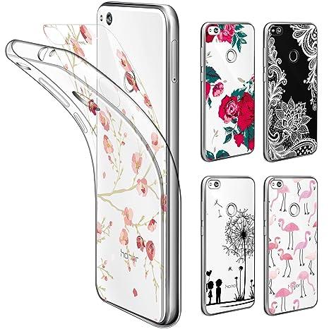 Cell Phones & Accessories Temperate Custodia Rigida Gommato Per Huawei P8 Lite 2017 Protettiva Cover Case Easy To Use