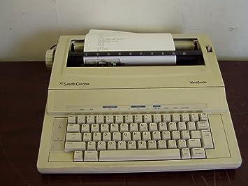 Smith Corona – KA11 electrónico máquina de escribir wordsmith 100 probado W/Print & Power