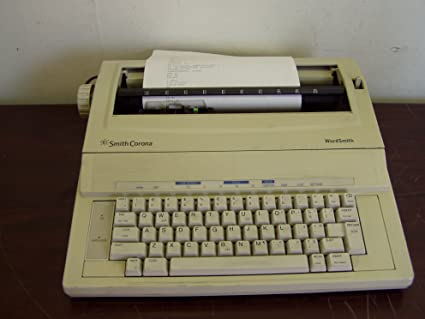 Smith corona pwp365ds portable electronic personal word processor.