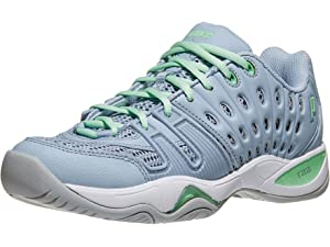 Prince T22 Grey/Mint Womens Shoes