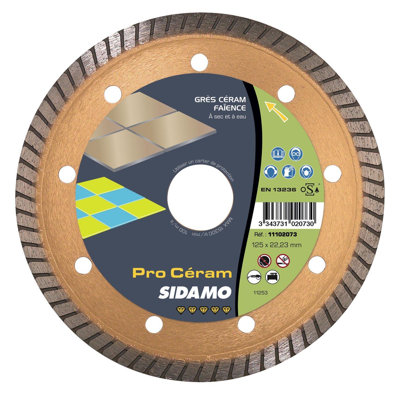 """Sidamo """"Pro Ceram"""" Trennscheibe Diamant& Karbit zum Schneiden von Materialien für die Außengestaltung"""