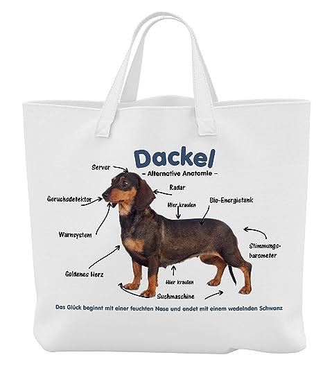 Merchandise for Fans Einkaufstasche 18 Liter 01 45 x 42 cm x 9,5 cm Motiv: Beagle Alternative Anatomie