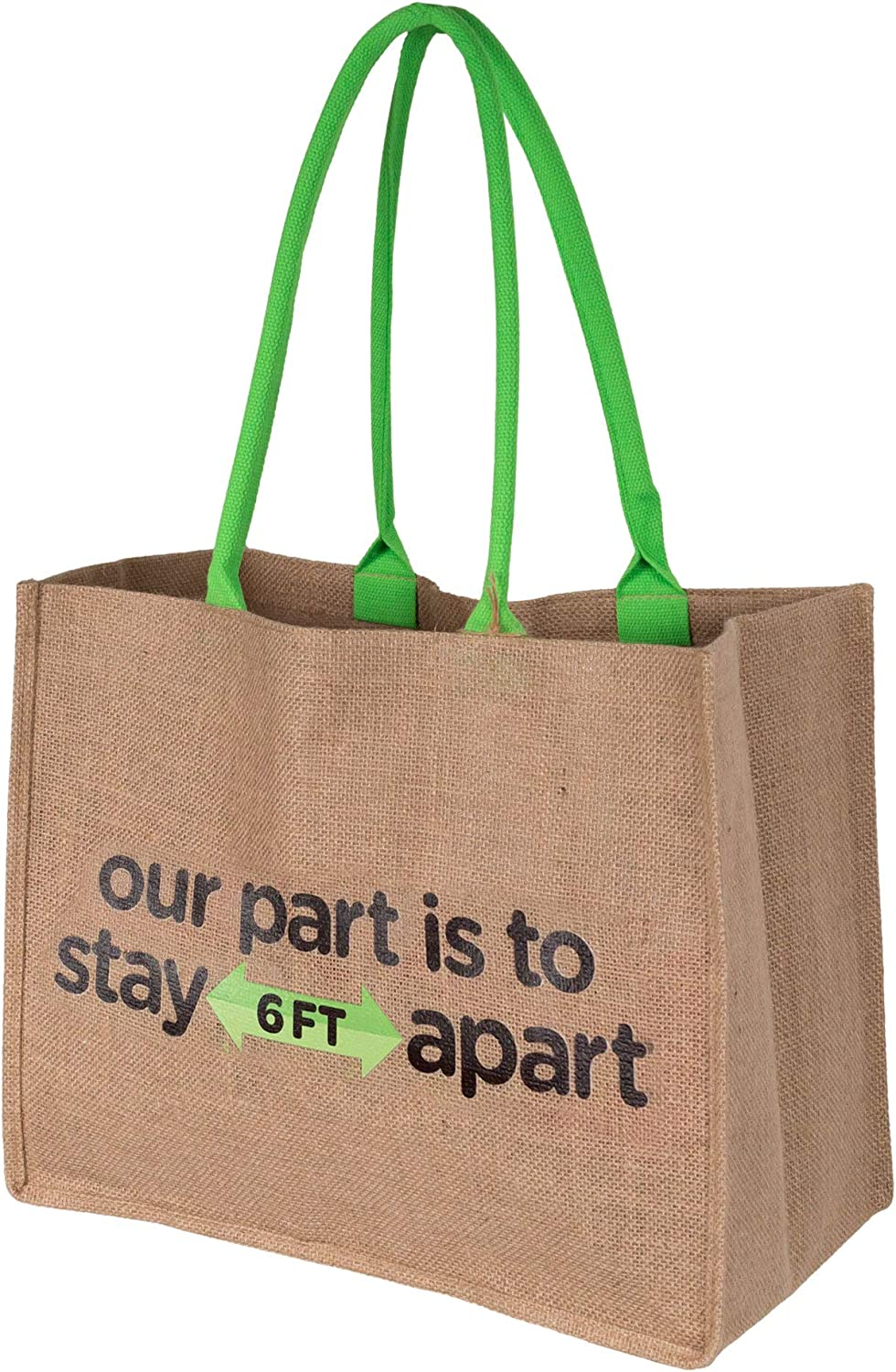 Novelty Gift Shopping Bags – Large Tote Bag – 13 x 17 x 9 Inches – 4 Pockets for Bottles, Phone, Keys – Long Handles – Water-Resistant Lining – Eco-Friendly – Durable – Shopping Bag, Beach Tote, Diaper Bag