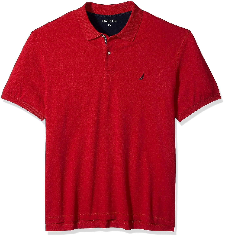 Rouge Classique 1XLT Haut Nautica Homme Z81101 Polo