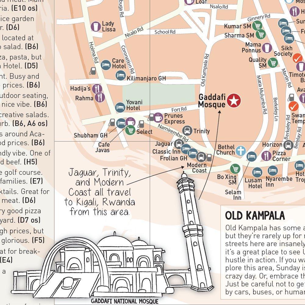 The Map Kampala Kirsty Henderson Amazon Books