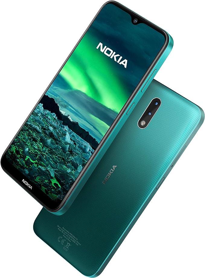 Nokia 2.3 Smartphone 6.2 Inch Android 2 GB RAM 32 GB (Dual-SIM) UK – Cyan Green: Amazon.es: Electrónica