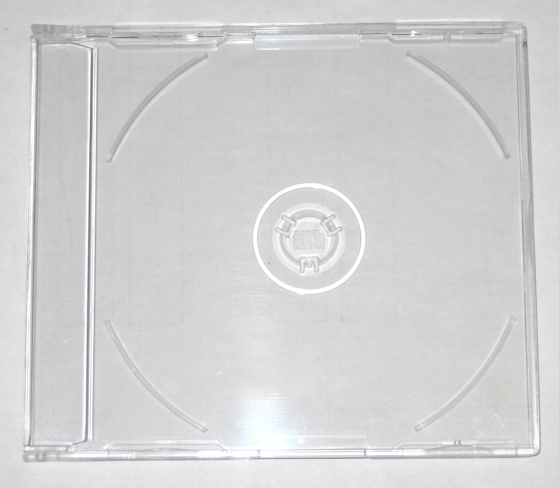 7mm MAXI SLIM CD JEWEL J CARD CASE W/ SUPER CLEAR TRAY, 7.2MM, PSC17, 200 PIECES/CASE