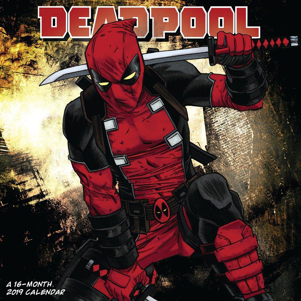 Deadpool Calendar 2019