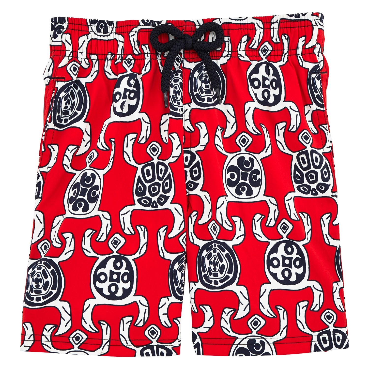 Vilebrequin Kids Baby Boys Primitive Turtles Swim Trunk Red 2 Years Toddler//Little Kids//Big Kids