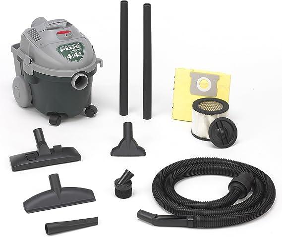 Shop Vac 5870400 4 Gallon 4 5 Peakhorsepower All Around Wet Dry Vacuum Gray Home Improvement