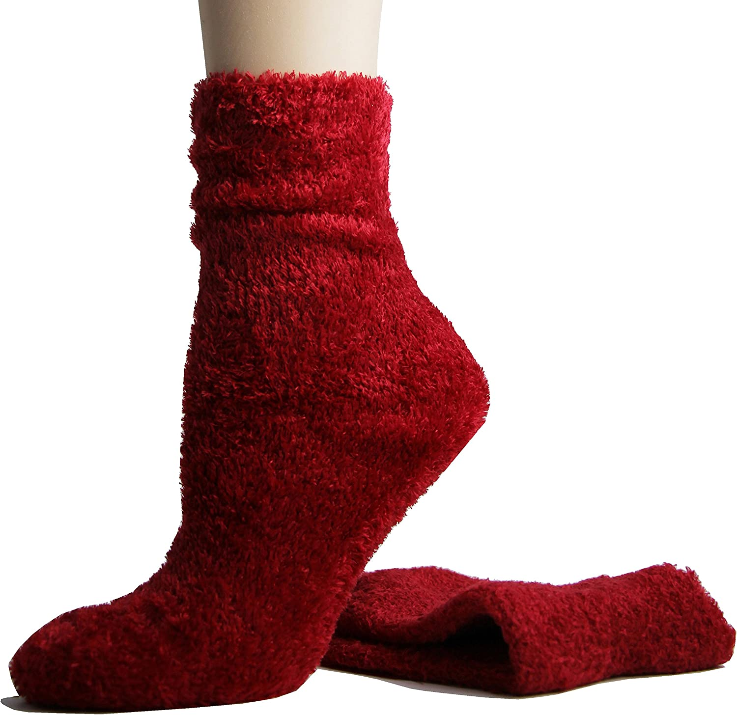 Foot Traffic, Cozy Fuzzy Microfiber Socks