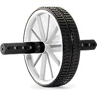 ProSource Discounts Fitness Dual Abdomen Wheel, White