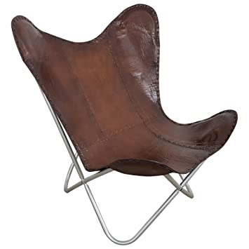 Indoortrend.com Butterfly Chair Sessel Design Lounge Stuhl Glatt ...