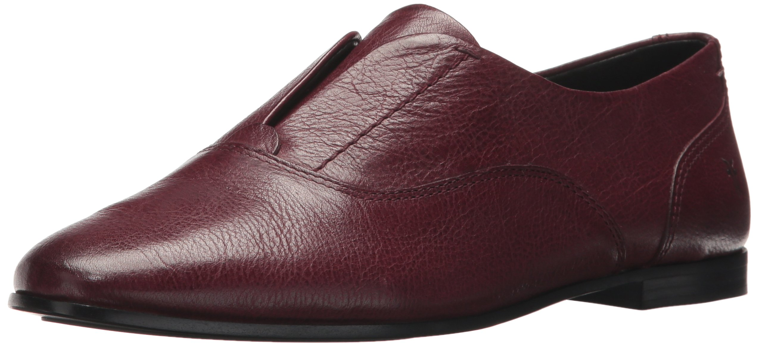 FRYE Women's Terri Slip-on Loafer, Wine, 10 M US