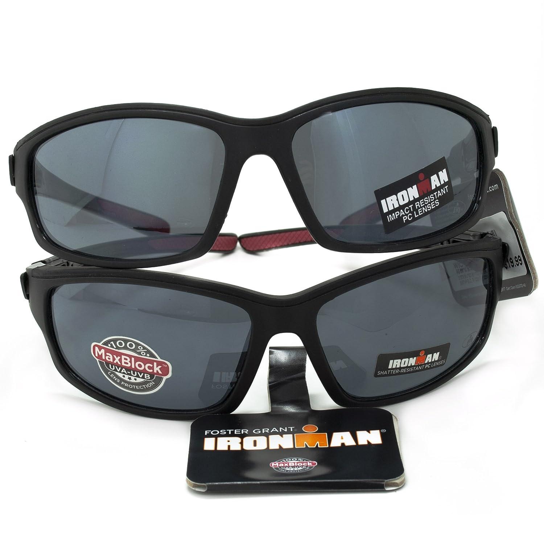 b4ea1256ca Amazon.com  Lot of 2 Foster Grant Ironman Agile Sunglasses  Health    Personal Care
