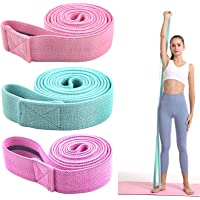 Long Resistance Bands,3 Pack Resistance Bands Set for Women Men, Fabric Pull Up Assistance Bands,Exercise Fitness…