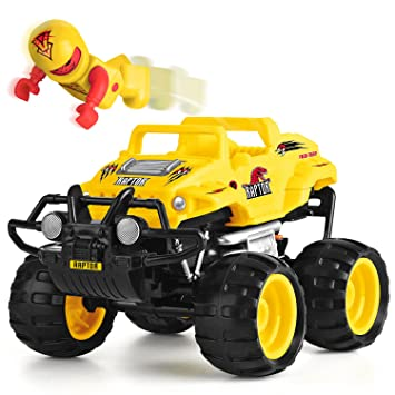 Monster Smash Ups Remote Control Race RC Truck - Raptor: Amazon.co on