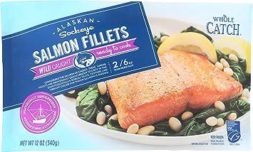 Whole Catch, Sockeye Salmon Fillet, 12 oz, (Frozen)