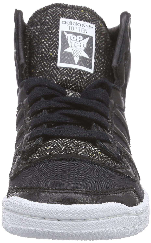 adidas Unisex Adults' Top Ten Hi Winterized Low-Top Sneakers Black Size: 4  UK: Amazon.co.uk: Shoes & Bags