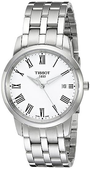 Tissot Stock Reloj Análogo clásico para Mujer de Cuarzo con Correa en Acero Inoxidable T0334101101301