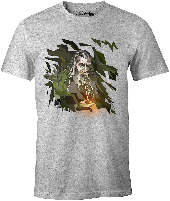 Printview Gandulf Concept Art T Shirt Amazon In Clothing