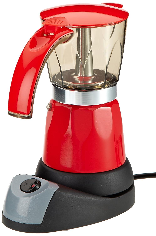 Espressokocher werden unter anderem (beispielsweise von der Firma TV Das Original) auch in Rot angeboten.
