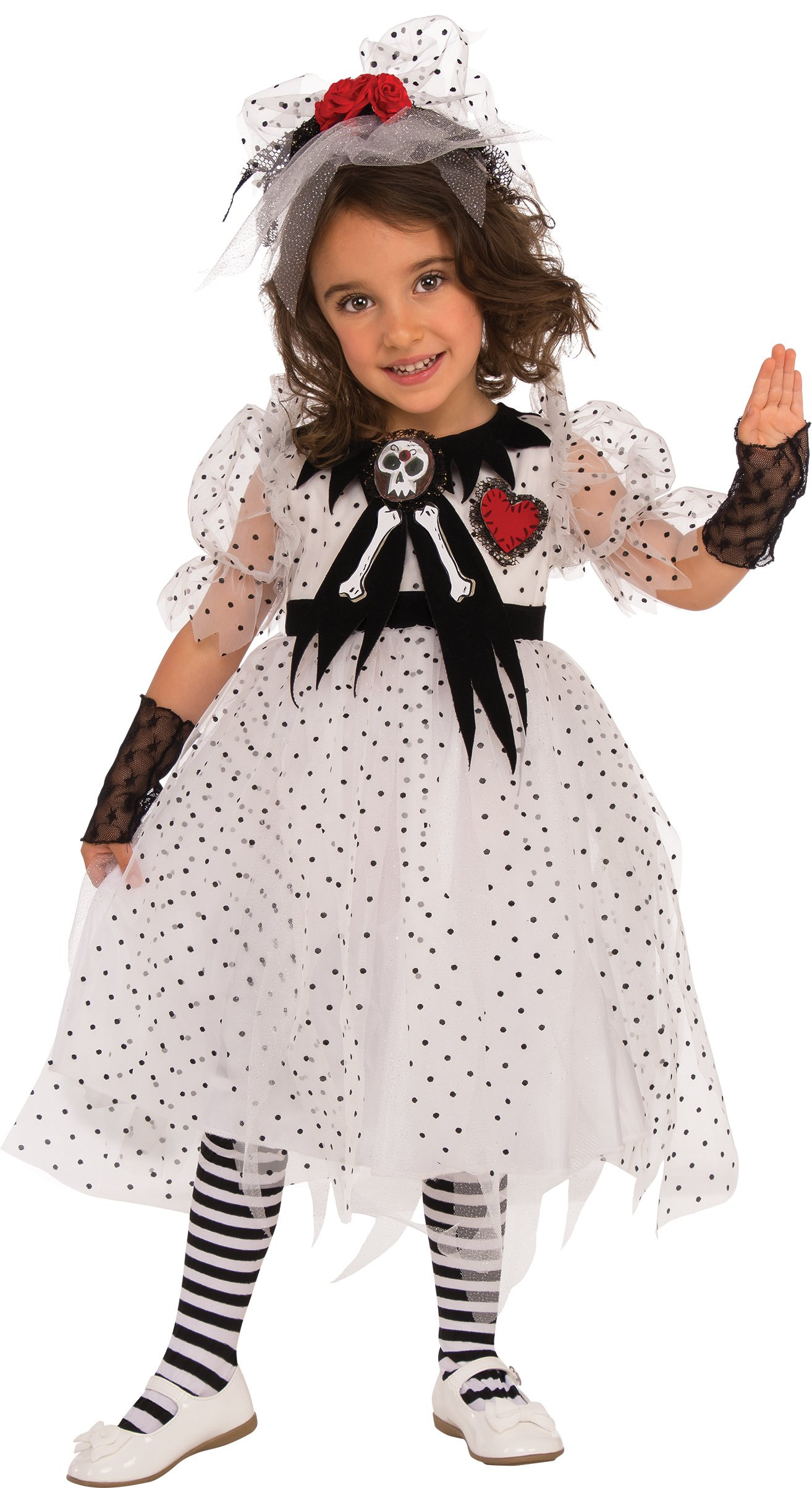 Rubies Costume Child's Ghost Girl Costume, Small, Multicolor