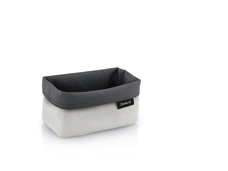 Blomus Ara Basket, Antracite/Sabbia, 14x 9x 7cm Blomus Ara Basket 68894