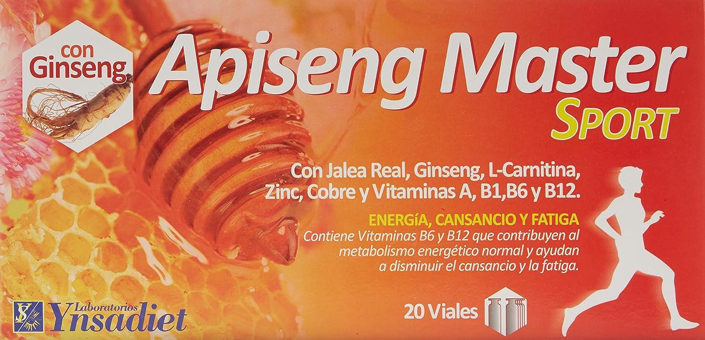 Ynsadiet Apiseng Master Sport - 20 Viales: Amazon.es: Salud y cuidado personal
