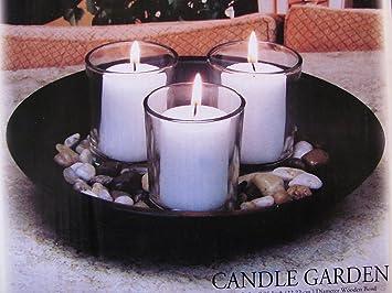 Amazoncom Interiors By Design Candle Garden Three Votive Holders