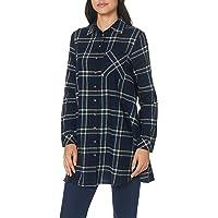 DeFacto Kadın Gömlekler Cep Detaylı Kareli Tunik Gömlek