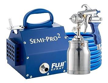 Fuji 2202 Semi Pro 2 Hvlp Spray System Blue Power Paint Sprayers