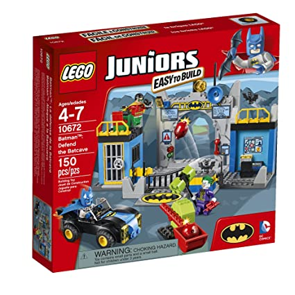 Amazon.com: LEGO Juniors 10672 Batman: Defend the Bat Cave: Toys & Games