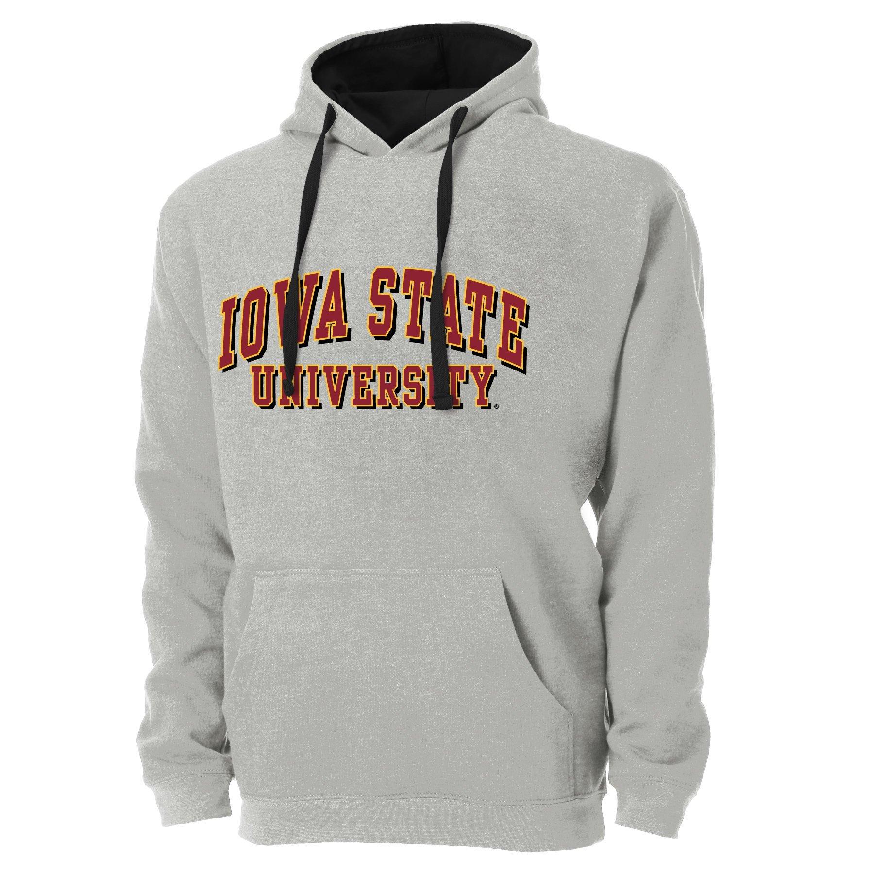 NCAA Iowa State Cyclones Ouray Long Sleeve Tee Graphite Small