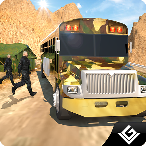- Offroad Pickup Army Bus Transport Simulator Adventure: Transporter Of Military Force In Euro Coach Drive Sim 3D