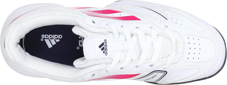 adidas Galaxy Elite 2K (Tennis), Zapatillas de Tenis Unisex niños, White-Weiß (Running White FTW/Blaze Pink S13 / Urban Sky F12), 38 EU: Amazon.es: Zapatos y complementos