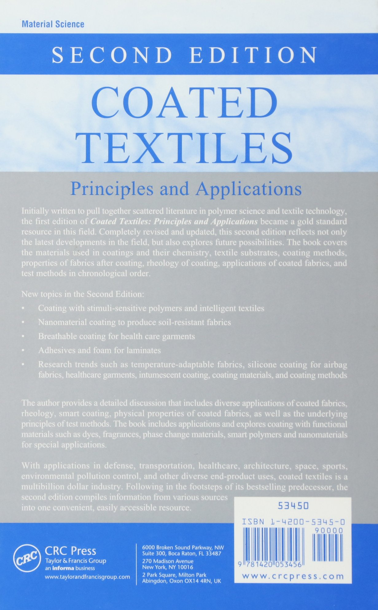 Get PDF Coated Textiles: Principles and Applications, Second Edition