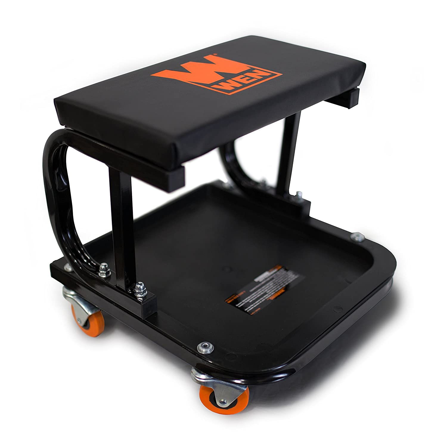 Amazon WEN Rolling Mechanic Seat with board Storage